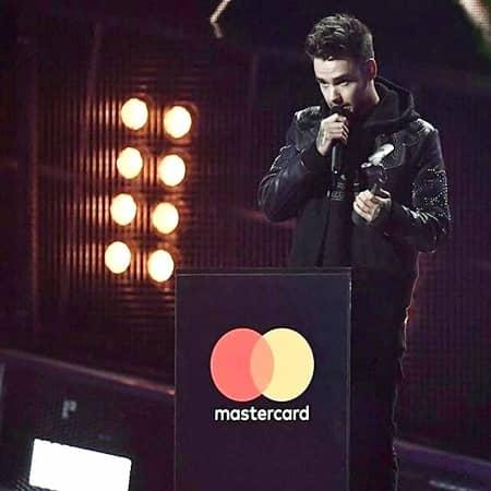 リアム・ペイン ワン・ダイレクション ブリット・アワード Liam Payne One Direction 1D Brit Awards 2017