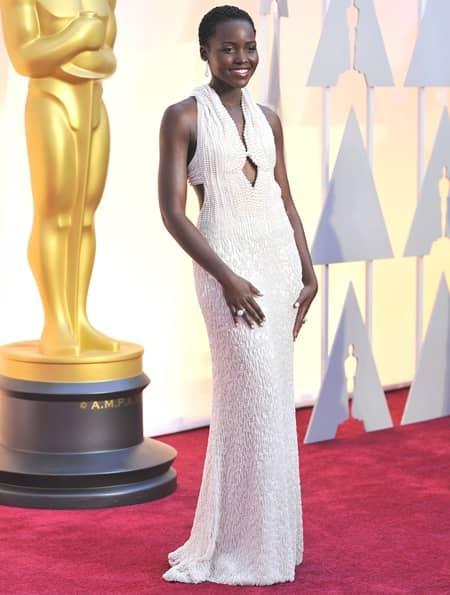 ルピタ・ニョンゴ アカデミー賞 Lupita Nyong'o2015 Annual Academy Awards