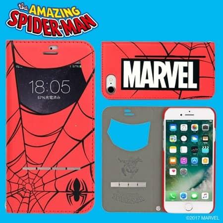 マーベル スマホケース スパイダーマン ハルク キャプテンアメリカ MARVEL smart phone case spiderman captain america hulk
