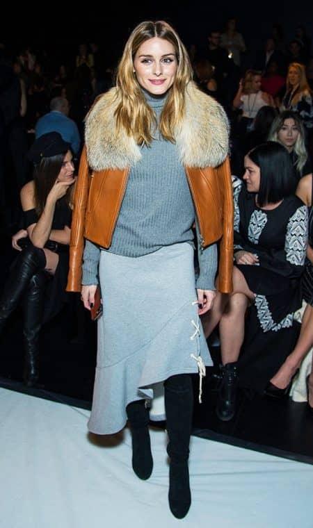ニューヨーク・ファッションウィーク 2017秋冬 NY オリヴィア・パレルモ Olivia Palermo ジョナサン・シンカイ Jonathan Simkhai