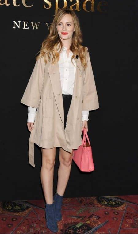 ニューヨーク・ファッションウィーク 2017秋冬 NY レイトン・ミースター Leighton Meester  ケイト・スペード Kate Spade