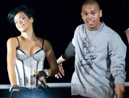 リアーナ クリス・ブラウン Rihanna Chris Brown Ex Singer