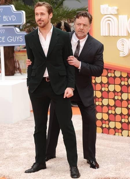ライアン・ゴズリング ラッセル・クロウ ナイス・ガイズ 映画 Ryan Gosling Russell Crowe Movie Nice Guys