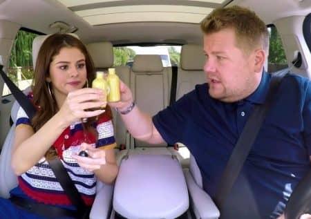 セレーナ・ゴメス Selena Gomez ジンジャーショット ジェームズ・コーデン カープール・カラオケ