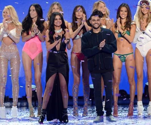 セレーナ・ゴメス ザ・ウィークエンド ヴィクトリアズ・シークレット ファッションショー 2015  Selena Gomez The Weeknd Victoria's Secret Fashion Show