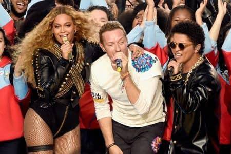 スーパーボウル Super Bowl 2016 ビヨンセ Beyonce コールドプレイ Coldplay ブルーノ・マーズ Bruno Mars ハーフタイムショー