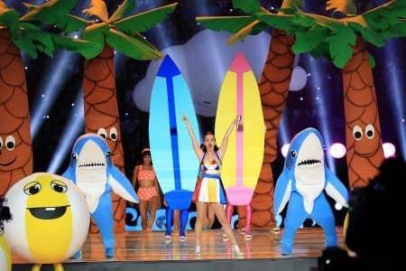 2015 スーパーボウル Super Bowl ケイティ・ペリー Katy Perry ハーフタイムショー パフォーマンス