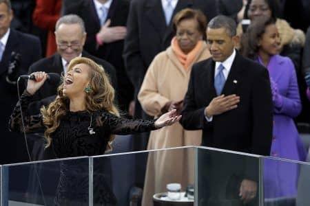 ビヨンセ Beyonce オバマ大統領就任式 2期目 2013 口パク