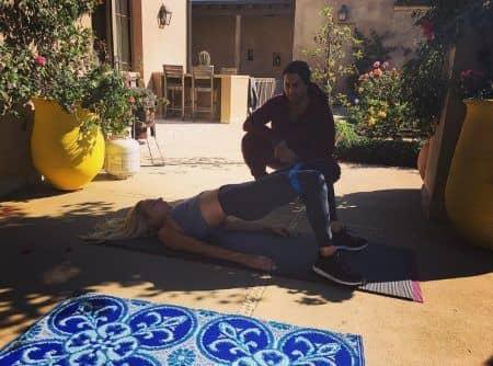 レディー・ガガ Lady Gaga スーパーボウル トレーニング 準備 トレーナー 体づくり