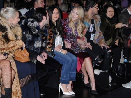 ティファニー・トランプ ファッションウィーク Tiffany Trump NY ニューヨーク Dennis Basso