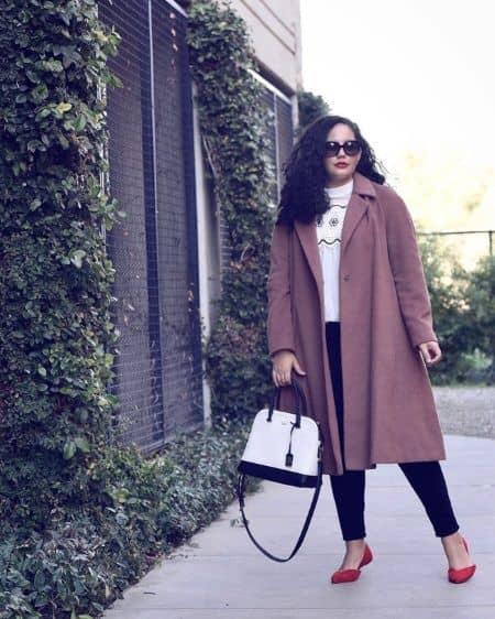 ぽっちゃりファッションブロガー タネーシャ・アワスティ 私服