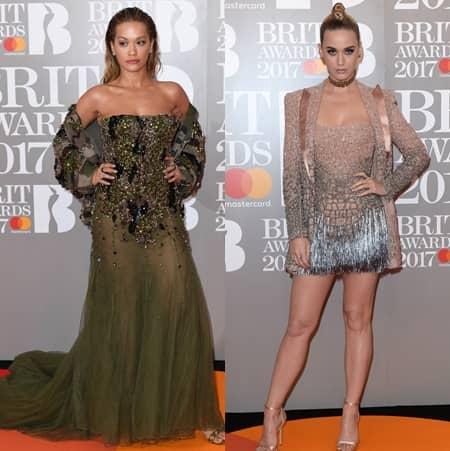 第37回 ブリット・アワード Brit Awards 2017 レッドカーペット ドレス 着用ブランド 早出し いち早く公開