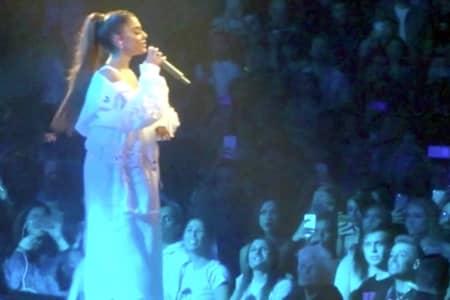 アリアナ・グランデ Arianna Grande デンジャラス・ウーマンツアー Dangerous Woman Tour 祖母 兄 フランキー ラスベガス