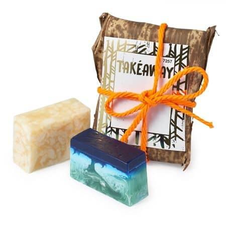 ラッシュ Lush ギフトボックス 2月15日発売 カラフル 可愛い ホワイトデー 限定 石鹸 プレゼント おすすめ 竹皮