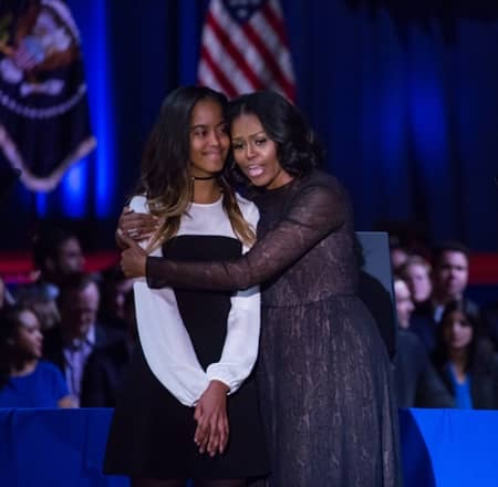マリア・オバマ Malia Obama バラク・オバマ元大統領 長女 インターン 映画 スキー旅行 メンバー 金持ち 御曹司 令嬢