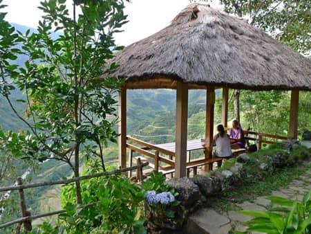 バナウェ Banaue, Philippines (Native Village Inn)