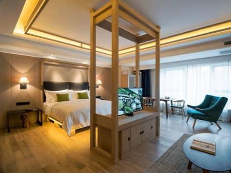 ハルビン(中国)Harbin, China (Harbin 22 Degrees Celsius Boutique Hotel)