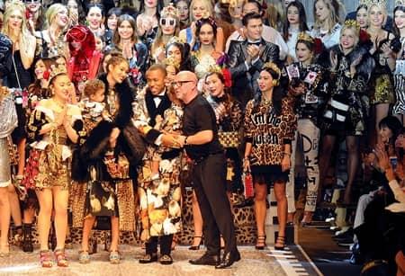ドルチェ&ガッバーナ Dolce&Gabbana  ミラノファッションウィーク コレクション 多様性 人種 職業 バラバラ 家族
