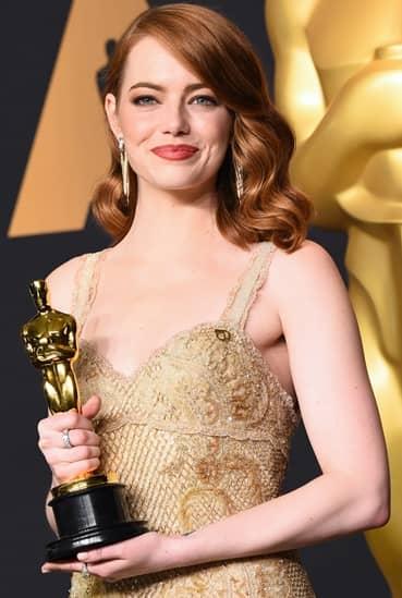 エマ・ストーン Emma Stone セレブのストレス対処法 89th Annual Academy Awards