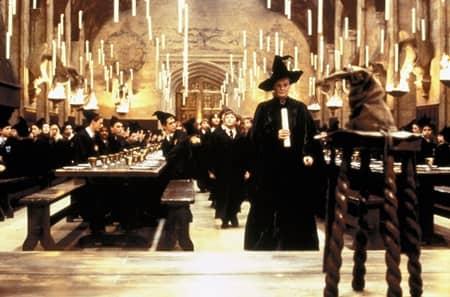 映画『ハリー・ポッター』2001年 場面写真