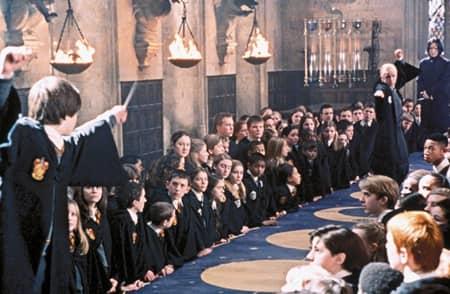 映画『ハリー・ポッター』2002年 場面写真