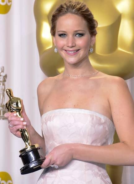 ジェニファー・ローレンス Jennifer Lawrence The Oscars Press Room - Hollywood, California セレブのストレス対処法