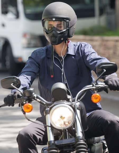 ジャスティン・ビーバー オーストラリア パース ハーレーダビッドソン乗車写真