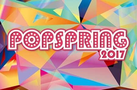 ポップスプリング POPSPRING2017 ロゴ