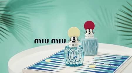 ミュウミュウ Miu Miu フレグランス 香水 第2弾 ミュウミュウ ロー ブルー オードパルファム  フローラルの香り スズラン ボトル 可愛い 部屋に置きたくなる