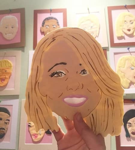 マライア・キャリー Mariah Carey セレブ 顔クッキー NY  The Cupcake Market カップケーキマーケット サラ・シルバーマン