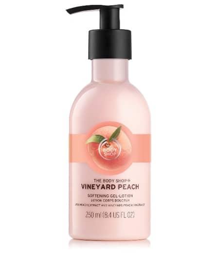 ザ・ボディショップ The Body Shop ヴィンヤードピーチ シリーズ 人気 甘くてフレッシュな香り パッケージ リニューアル 数量限定 4月13日