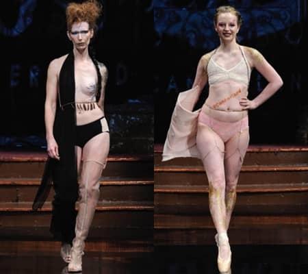 アナ・オノ AnaOno NYFW ファッションウィーク 2017年 乳がん 乳がんサバインバー ランウェイ ウォーキング