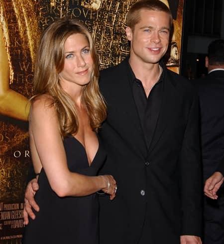 ブラッド・ピット ジェニファー・アニストン Brad Pitt Jennifer Anniston