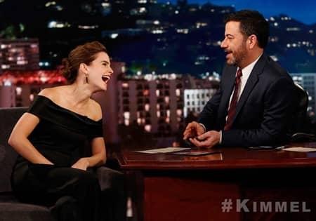 エマ・ワトソン ジミー・キンメル ゲスト Emma Watson Jimmy Kimmel Live