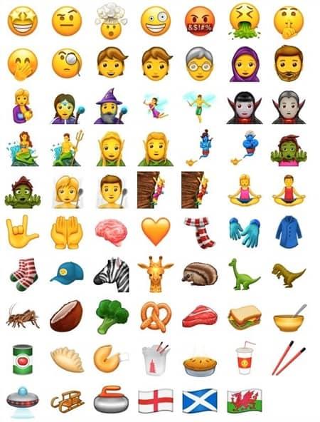 iPhone 絵文字 新追加 emoji new