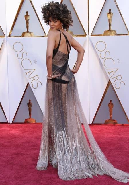 ハル・ベリー オスカー アカデミー賞 2017  Halle Berry Oscar Academy Awards