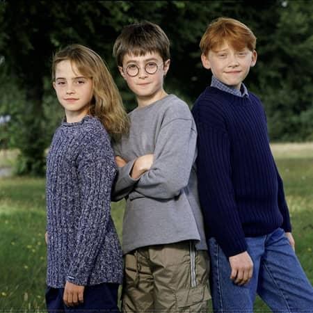 ハリー・ポッター エマ・ワトソン ダニエル・ラドクリフ ルパート・グリント Harry Potter Emma Watson