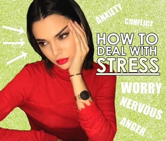 ケンダル・ジェナー ストレス 対処法 Kendall Jenner Deal With Stress