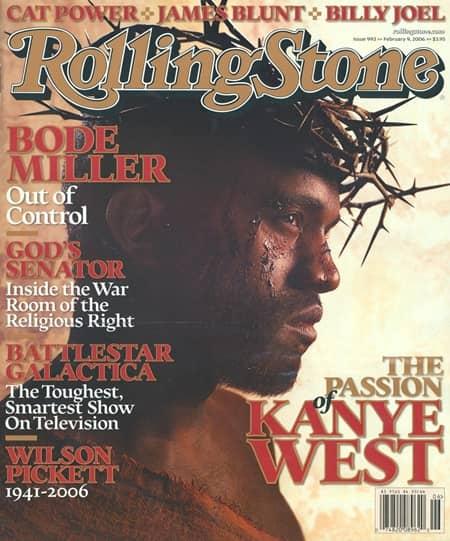 カニエ・ウェスト 雑誌 表紙 イエス・キリスト 神 Kanye West Rolling Stone Magazine Jesus Christ God
