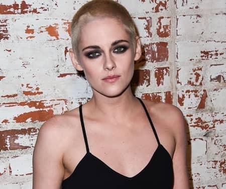 クリステン・スチュワート Kristen Stewart  坊主 ブロンド Shaved Head Blonde Underwater personal Shopper