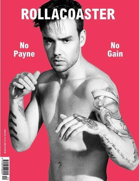 リアム・ペイン ワン・ダイレクション 1D Liam Payne Rollacoaster Magazine Cover