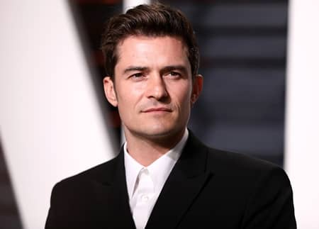 オーランド・ブルーム 俳優 Orlando Bloom Actor Vanity Fair Oscar Party