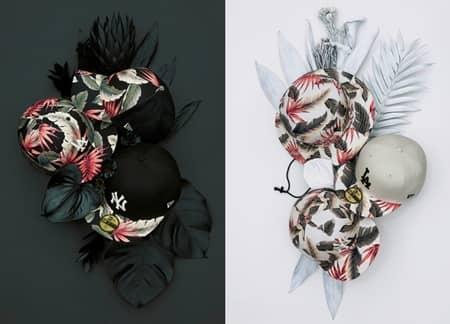 ニューエラ New Era 新アイテム ボタニカル柄 ヴィンテージ アメリカの西海岸 調度品 家具 2種類 アパレル ハット かわいい