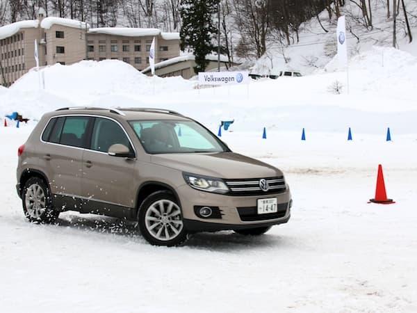 タングラム斑尾で「Volkswagen Snow Driving Experience」開催